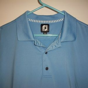 Footjoy Mens Golf Polo Shirt XL/Long Athletic Fit